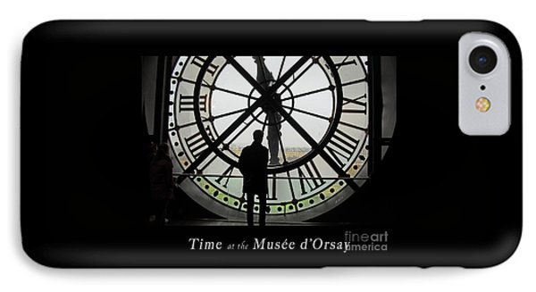 Time At The Musee D'orsay Phone Case by Felipe Adan Lerma