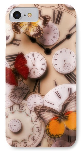 Time Flies Phone Case by Garry Gay