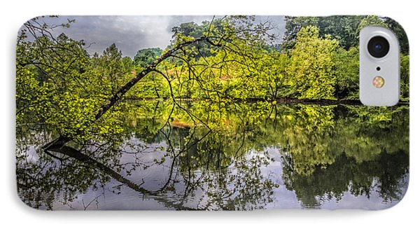 Time For Reflecting IPhone Case by Debra and Dave Vanderlaan