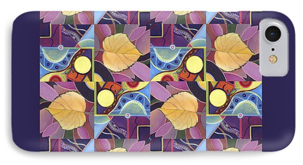 Time Goes By 2 - The Joy Of Design Series Arrangement IPhone Case by Helena Tiainen