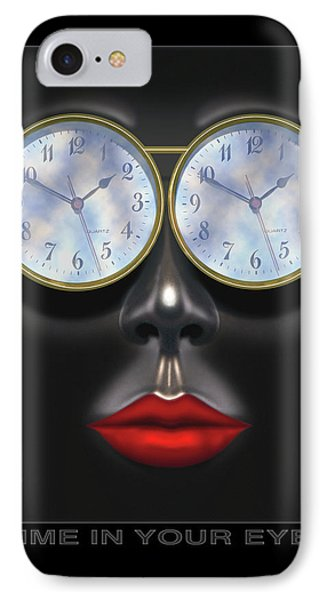 Time In Your Eyes Phone Case by Mike McGlothlen