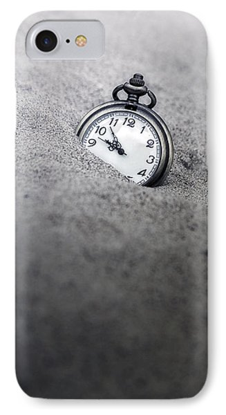 Time Is Running IPhone Case