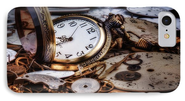 Time Machine Still Life IPhone Case by Tom Mc Nemar