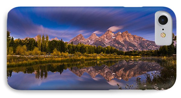 Time Stops Over Tetons IPhone Case by Edgars Erglis