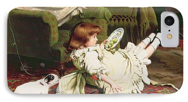 Time To Play IPhone Case by Charles Burton Barber