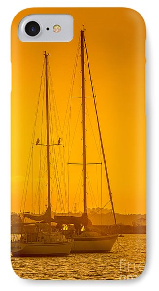 Time To Sail IPhone Case by Marvin Spates