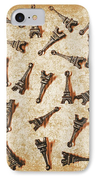 Time Worn Trinkets From Vintage Paris IPhone Case by Jorgo Photography - Wall Art Gallery
