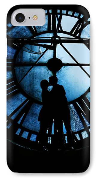Timeless Love - Midnight Blue IPhone Case