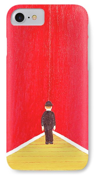IPhone Case featuring the painting Timeout by Thomas Blood