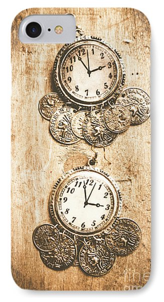 Timepieces From Bygone Fashion IPhone Case