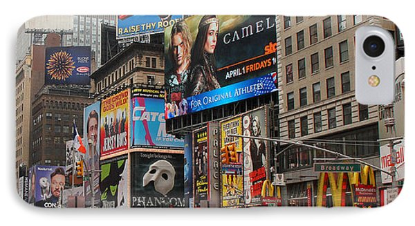 Times Square 4 Phone Case by Andrew Fare