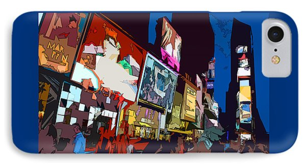 Times Square IPhone Case by Christopher Woods
