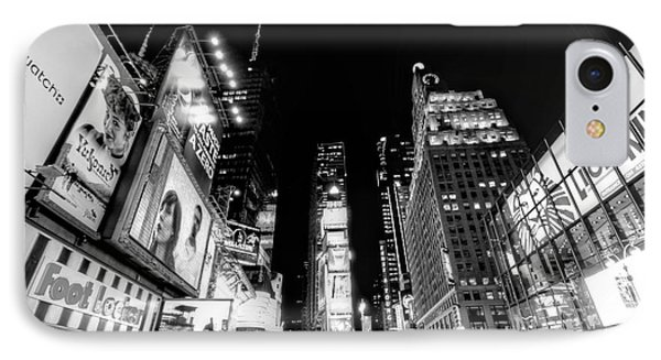 Times Square Don't Shine As Bright As You Phone Case by Ariane Moshayedi