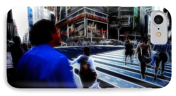 Times Square New York City Phone Case by Lawrence Christopher