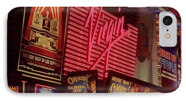Times Square Night Phone Case by Debbi Granruth