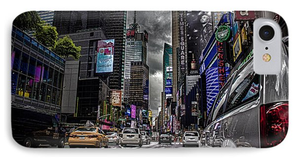 Times Square Nyc IPhone Case by Martin Newman