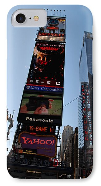 Times Square Phone Case by Rob Hans