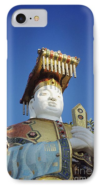 Tin Hua Temple Colorful Statue Phone Case by Gloria and Richard Maschmeyer - Printscapes