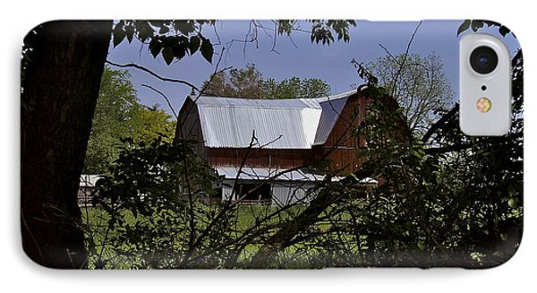 Tin Roofed Barn Phone Case by Richard Gregurich