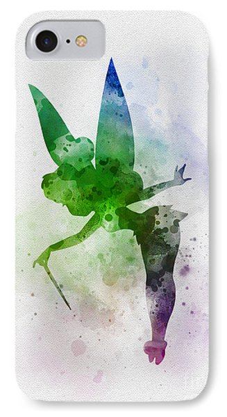 Tinker Bell Phone Case by Rebecca Jenkins
