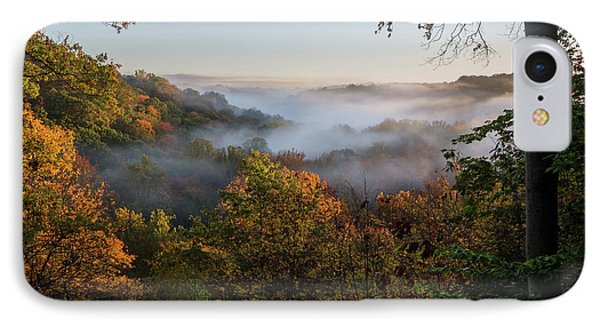 IPhone Case featuring the photograph Tinkers Creek Gorge Overlook by Dale Kincaid