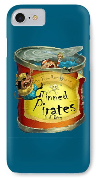Tinned Pirates IPhone Case