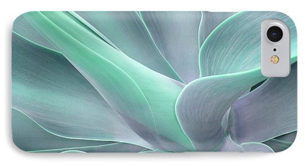 Tinted Agave Attenuata Abstract IPhone Case