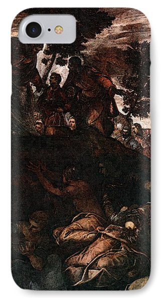 Tintoretto The Miracle Of The Loaves And Fishes IPhone Case