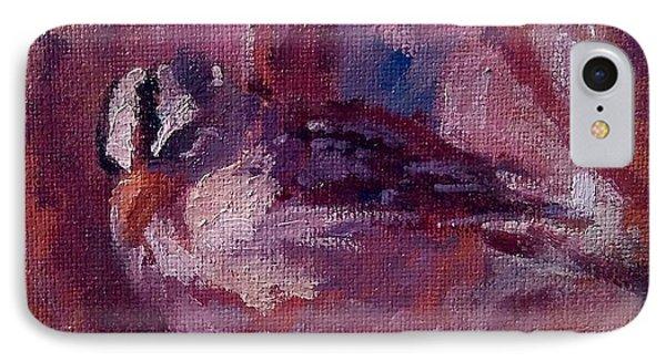Tiny Bird Study #1 Phone Case by Brian Kardell