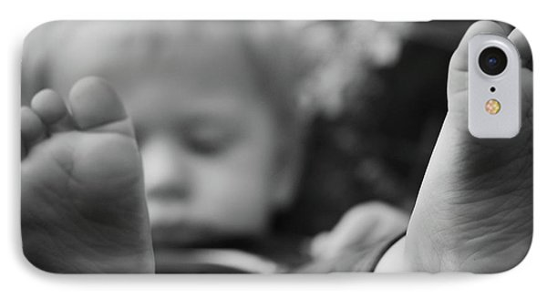 IPhone Case featuring the photograph Tiny Feet by Robert Meanor