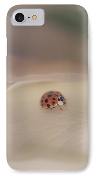 Tiny Lady On White Rose IPhone Case