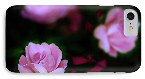 Tiny Pink Azaleas IPhone Case by Tamyra Ayles