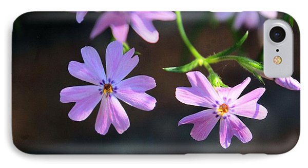 Tiny Pink Flowers IPhone Case by John S