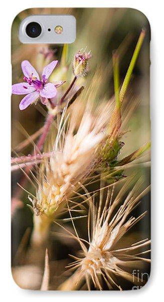 Tiny Purple Flower 3320 IPhone Case