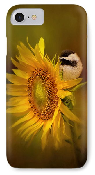 Tiny Surprise Bird Art IPhone 7 Case by Jai Johnson