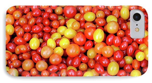 Tiny Tomatoes IPhone Case by Todd Klassy