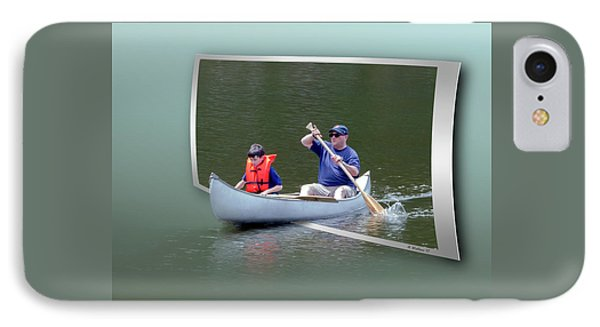 Tip A Canoe And Tyler Too IPhone Case by Brian Wallace