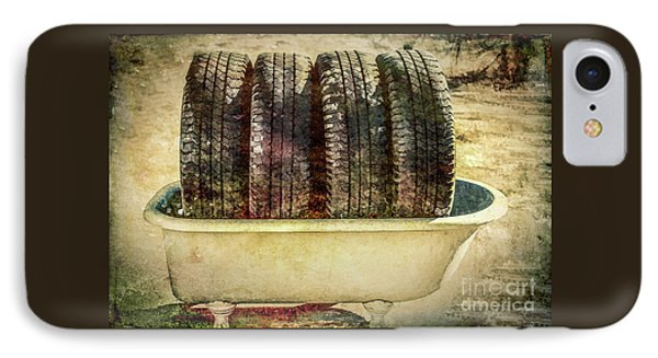 Tires In The Bathtub IPhone Case