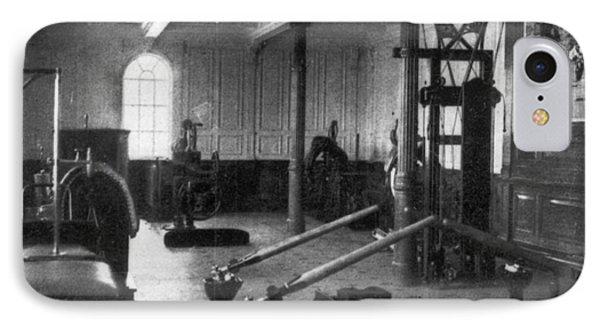 Titanic: Exercise Room, 1912 Phone Case by Granger