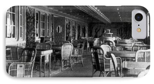 Titanic: Parisian Cafe, 1912 Phone Case by Granger