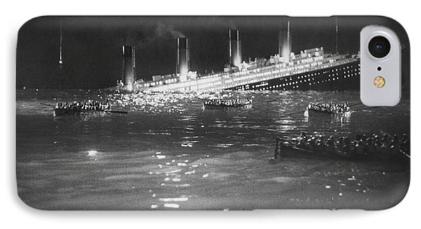 Titanic: Re-creation, 1912 Phone Case by Granger