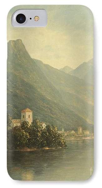 Title Lake In The Mountains IPhone Case