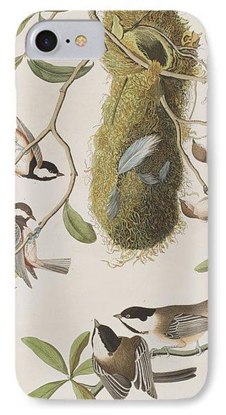 Titmouse iPhone 7 Case - Titmouses by John James Audubon