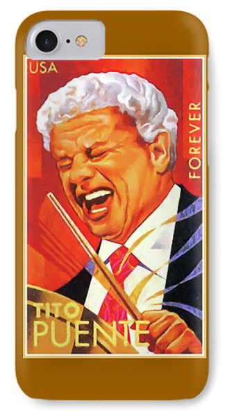Tito Puente IPhone Case by Lanjee Chee