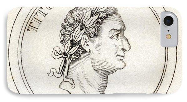 Titus Flavius Sabinus Vespasianus Aka IPhone Case