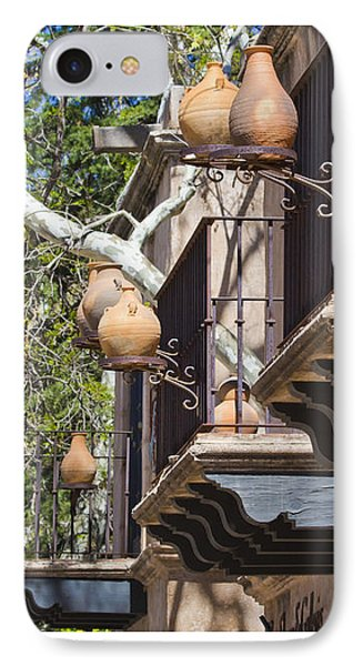 IPhone Case featuring the photograph Tlaquepaque Balconies by Chris Dutton