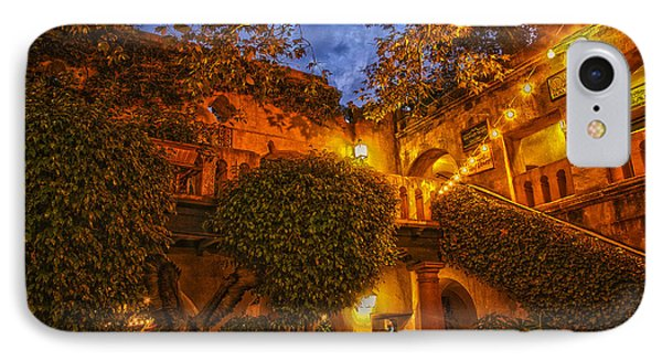 IPhone Case featuring the photograph Tlaquepaque Evening by Laura Pratt