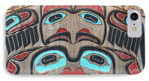 Tlingit Wall Panel IPhone Case