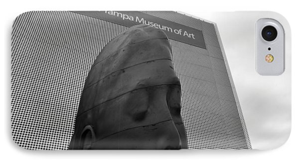 IPhone Case featuring the photograph Tampa Museum Of Art Work B by David Lee Thompson