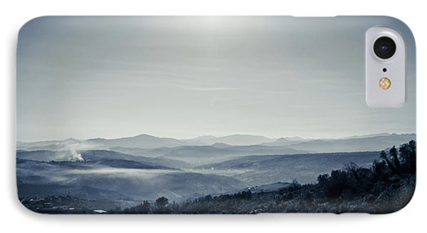 To A Peaceful Valley IPhone Case by Andrea Mazzocchetti